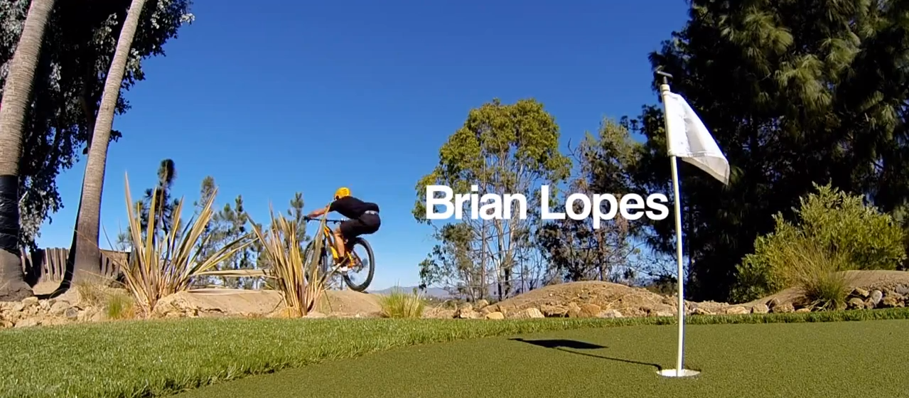 Brian Lopes PumpTrack Yard!